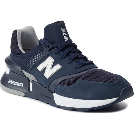 styl mody różnie więcej zdjęć Sneakersy NEW BALANCE - MS997HP Granatowy eobuwie.pl