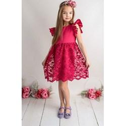 e675f517 Sukienka dziewczęca Lily Grey z bawełny