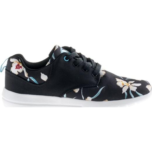 Buty sportowe damskie Elbrus z gumy sznurowane w kwiaty