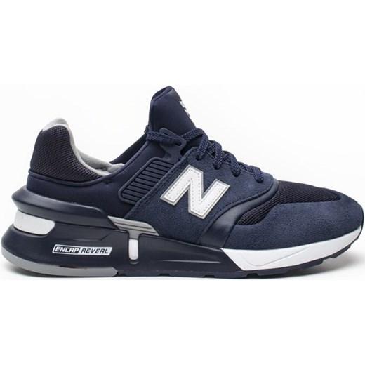 Buty sportowe męskie New Balance niebieskie sznurowane