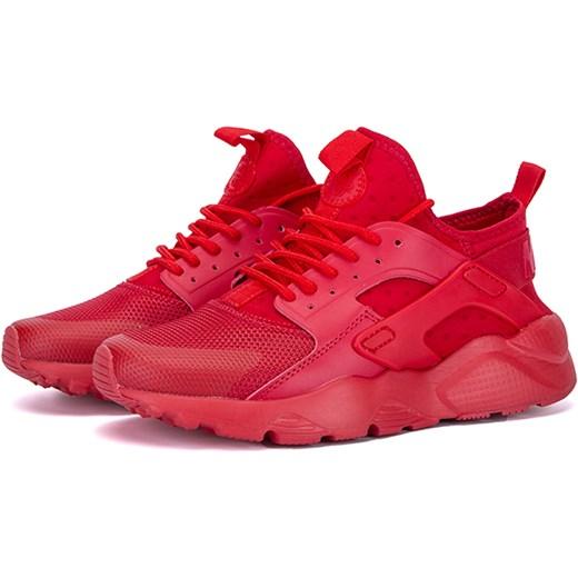buty nike skórzane czerwone