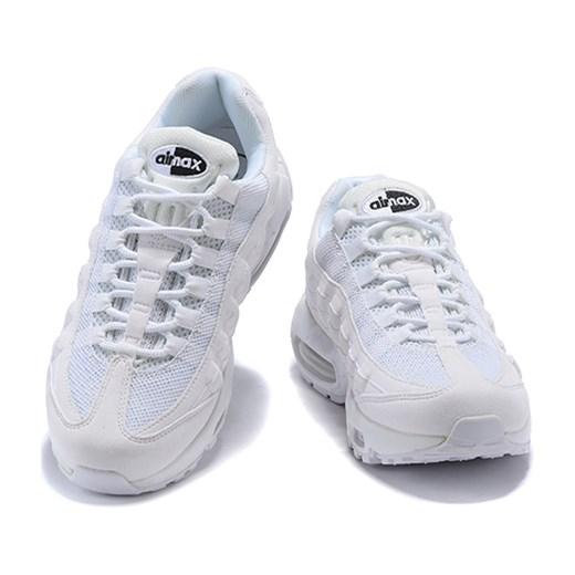 Buty sportowe damskie białe Nike dla biegaczy na wiosnę