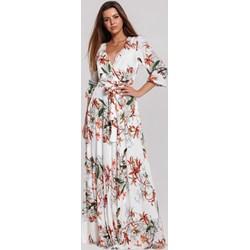 ab9c1eae6b5641 Sukienka Renee na spacer z długim rękawem maxi
