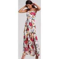 adfb58b36f48ac Sukienka wielokolorowa Renee boho maxi na ramiączkach
