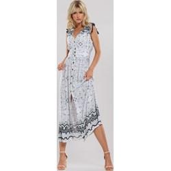 14bd7f75 Sukienki z guzikami, lato 2019 w Domodi