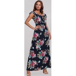 14a687eb Sukienka Renee na spacer z dekoltem v prosta