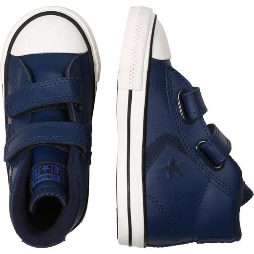 30% OBNIŻONE Buciki niemowlęce niebieskie Converse Buty