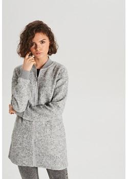Cropp - Długa bluza - Jasny szary  Cropp  - kod rabatowy
