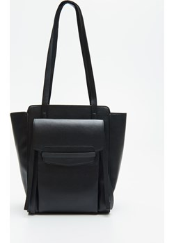 Cropp - Duża torebka typu shopper - Czarny Cropp   - kod rabatowy