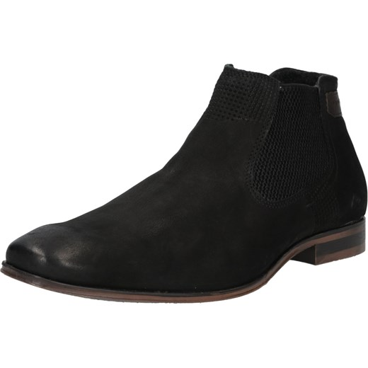 60% ZNIŻKI Bugatti buty zimowe męskie czarne casualowe na
