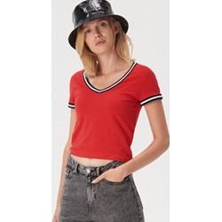 37ea81b47432c7 Czerwone bluzki damskie sinsay, lato 2019 w Domodi
