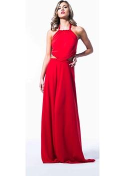 Suknia na jedno ramię - GINA My Image Art - kod rabatowy