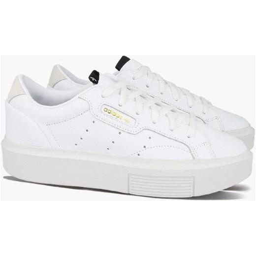 dobry Trampki damskie białe Adidas Originals wiązane