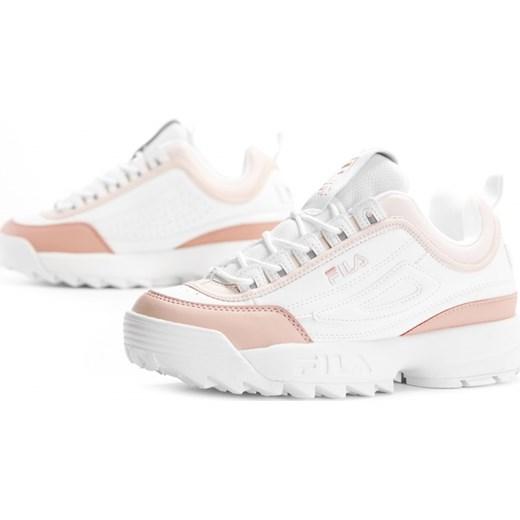 Fila buty sportowe damskie ze skóry gładkie Buty Damskie CP