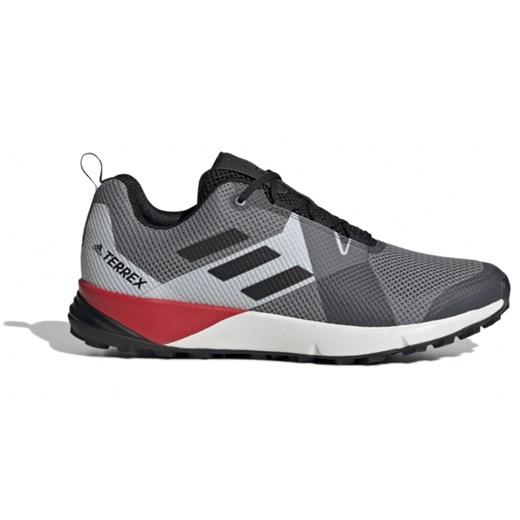Buty sportowe męskie Adidas terrex niebieskie na wiosnę sznurowane