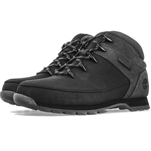 Buty zimowe męskie Timberland sznurowane skórzane Buty