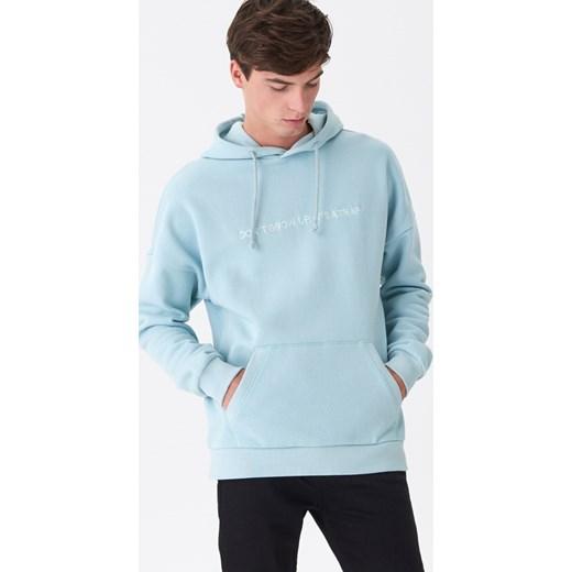 Bluza męska House Odzież Męska KO niebieski Bluzy męskie