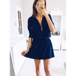 1338a52a00914d Niebieskie sukienki pakuten.pl, lato 2019 w Domodi