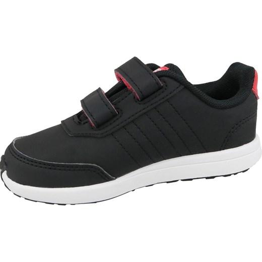 Buty sportowe dziecięce Adidas bez wzorów na rzepy Buty