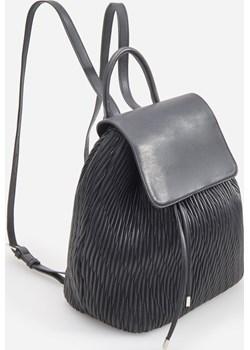 Reserved - Strukturalny plecak - Czarny Reserved   - kod rabatowy