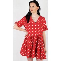 b79b02ab Sukienka casual mini z krótkim rękawem