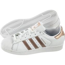 c468a9d6787a0d Trampki damskie Adidas superstar sportowe ze skóry ekologicznej sznurowane  wiosenne