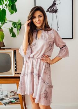 Sukienka Eliza pink   Fanaberia Store - kod rabatowy