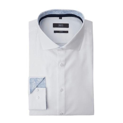 Koszula Męski Gładkia Na co dzień Mieszanka bawełny Długi