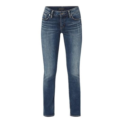 Jeansy damskie Silver Jeans Odzież Damska WB niebieski Jeansy damskie CNJV Stała usługa
