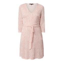 d243b6596eb7b6 Reserved - Sukienka w kropki Wielobarwn czarny w Domodi