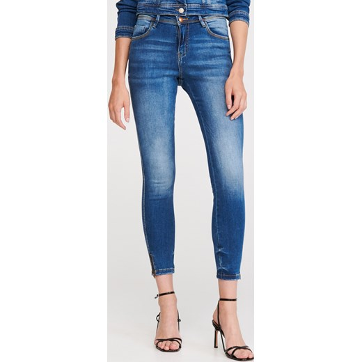 Jeansy damskie Reserved Odzież Damska AZ niebieski Jeansy