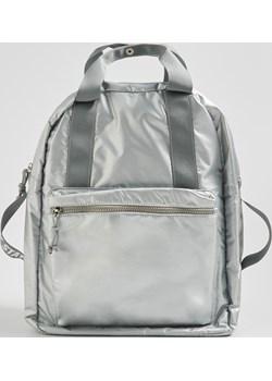 Sinsay - Holograficzny plecak z uchwytami - Jasny szar  Sinsay  - kod rabatowy