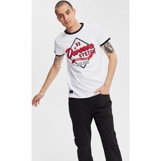 60% ZNIŻKI T shirt męski Fila z krótkimi rękawami z napisem