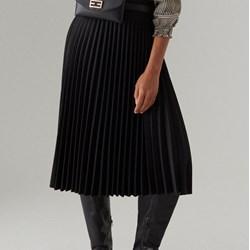 55c4ff14 Spódnica Mohito czarna midi