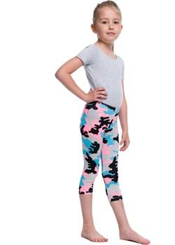 Legginsy dziecięce 3/4 GETRY MORO różowy szary turkusowy Rennwear  rennwear.com okazja  - kod rabatowy