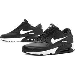 eeed5085829271 Buty sportowe damskie czarne Nike do biegania ze skóry