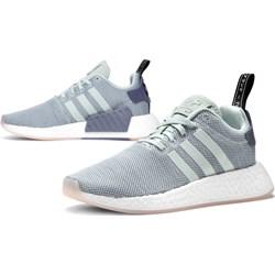 86b4dde2c98d5c Buty sportowe damskie Adidas na fitness nmd skórzane sznurowane płaskie bez  wzorów