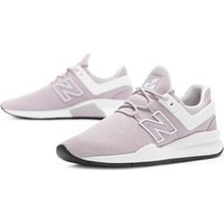 67572bd95800c7 Buty sportowe damskie New Balance różowe płaskie z gumy
