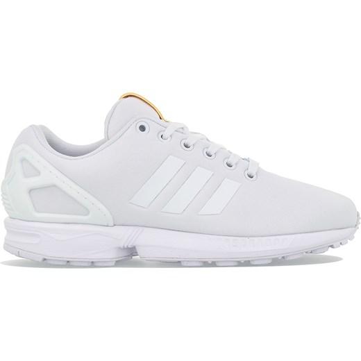 super jakość produkty wysokiej jakości najnowszy Buty sportowe damskie Adidas sneakersy młodzieżowe zx flux białe wiosenne