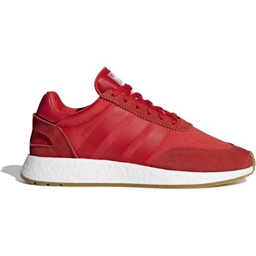 Buty sportowe męskie czerwone Adidas sznurowane wiosenne