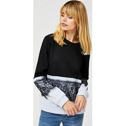Bluza damska Mimi młodzieżowa z koronką