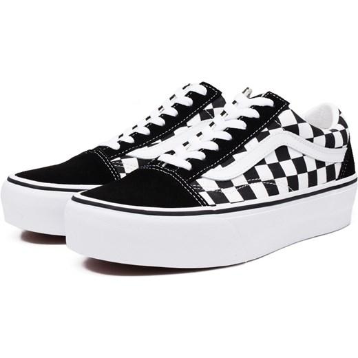vans checkerboard old skool damskie