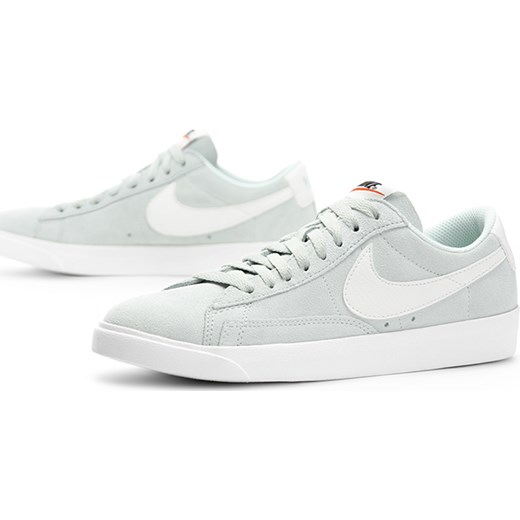 Buty sportowe damskie Nike koszykarskie płaskie białe