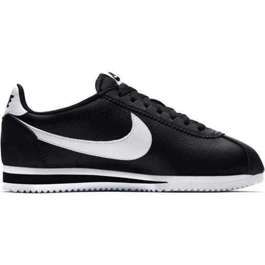 Białe buty sportowe damskie Nike młodzieżowe cortez bez
