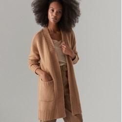 c523fae2 Sweter damski żółty Mohito