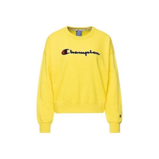 najlepiej online taniej sprzedawane na całym świecie Bluza sportowa Champion żółta