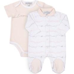 df9e8a3a35762b Odzież dla niemowląt Ea7 Emporio Armani dziewczęca w nadruki