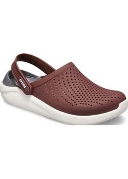 Crocs wiśniowe/bordowe buty LiteRide Clog Burgundy/White  Crocs Differenta.pl - kod rabatowy