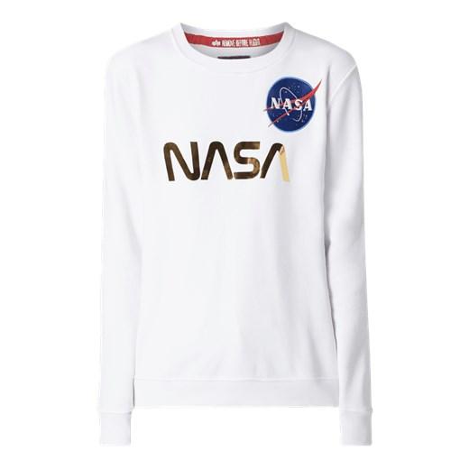 szukać przystępna cena Stany Zjednoczone Alpha Industries bluza damska biała