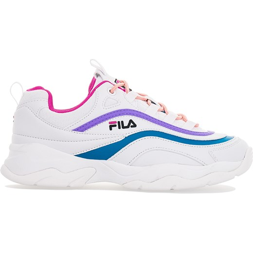 dobry Fila buty sportowe damskie sneakersy młodzieżowe białe